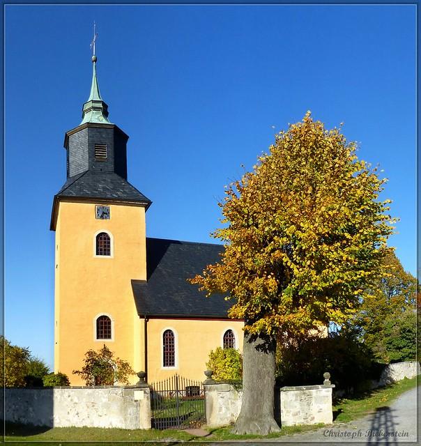 Dorfkirche zu Breitenau im Osterzgebirge