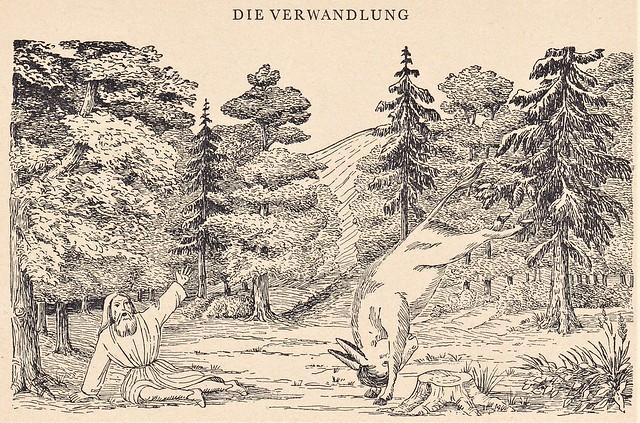 Heinrich Hoffmann / Prinz Grünewald und Perlenfein mit ihrem lieben Eselein / Seite 6