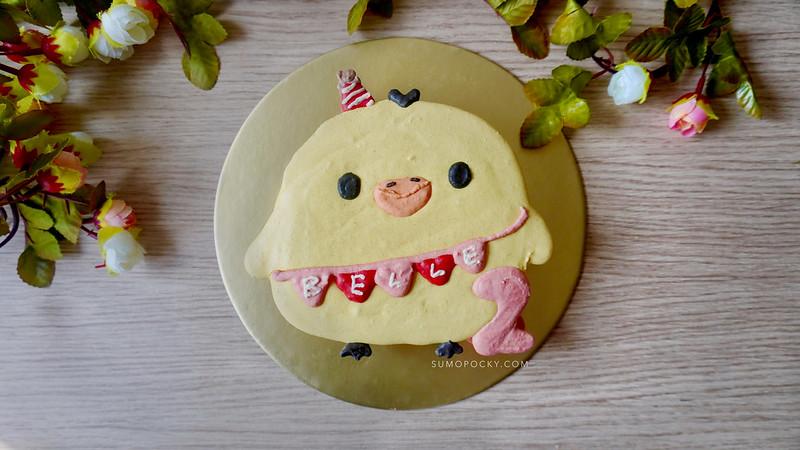 Kiiroitori Rilakkuma Macaron Cake
