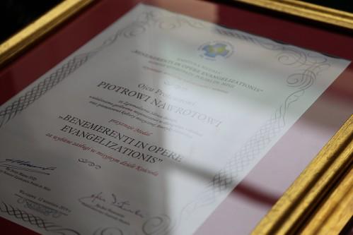 "Medale Komisji Episkopatu ds. Misji ""Benemerenti in Opere Evangelizationis"", Warszawa, 23 X 2019"
