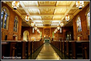 SAINT BENEDICT'S ROMAN CATHOLIC CHURCH. NEW YORK CITY.