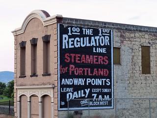 Regulator Line Sign