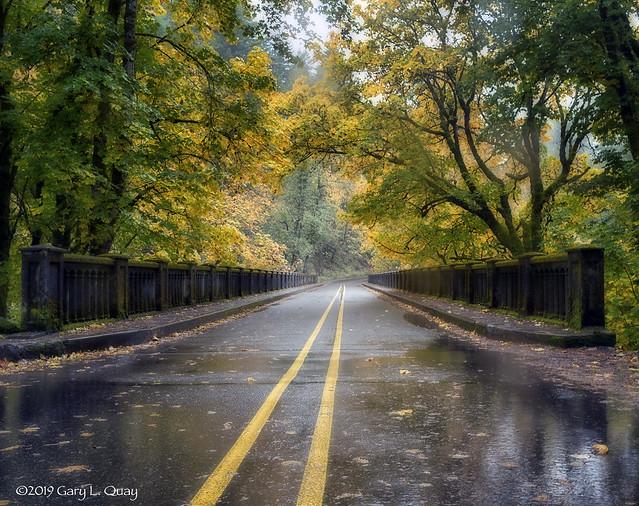 Latourell Bridge on the Historic Columbia River Highway, Oregon