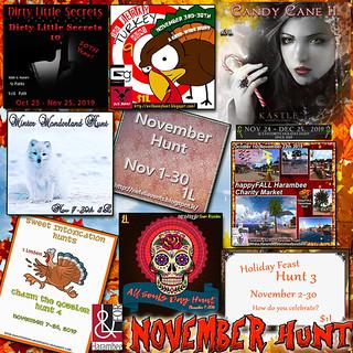 November Hunts cover