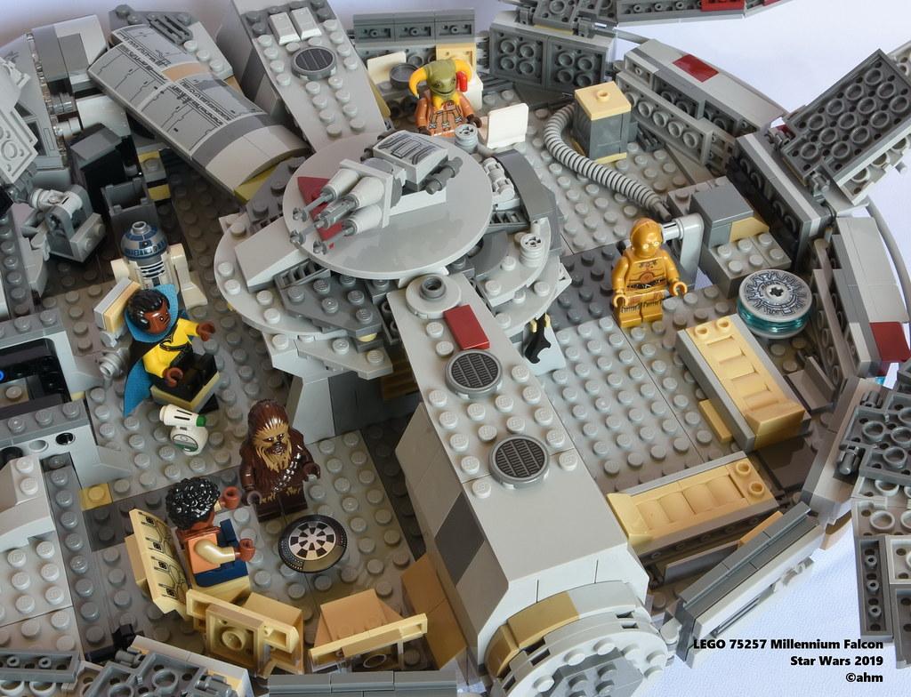 Star Wars Lego 75257 Millennium Falcon Lego 75257 Millenni Flickr