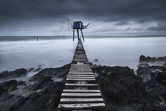 Pêcherie bleue