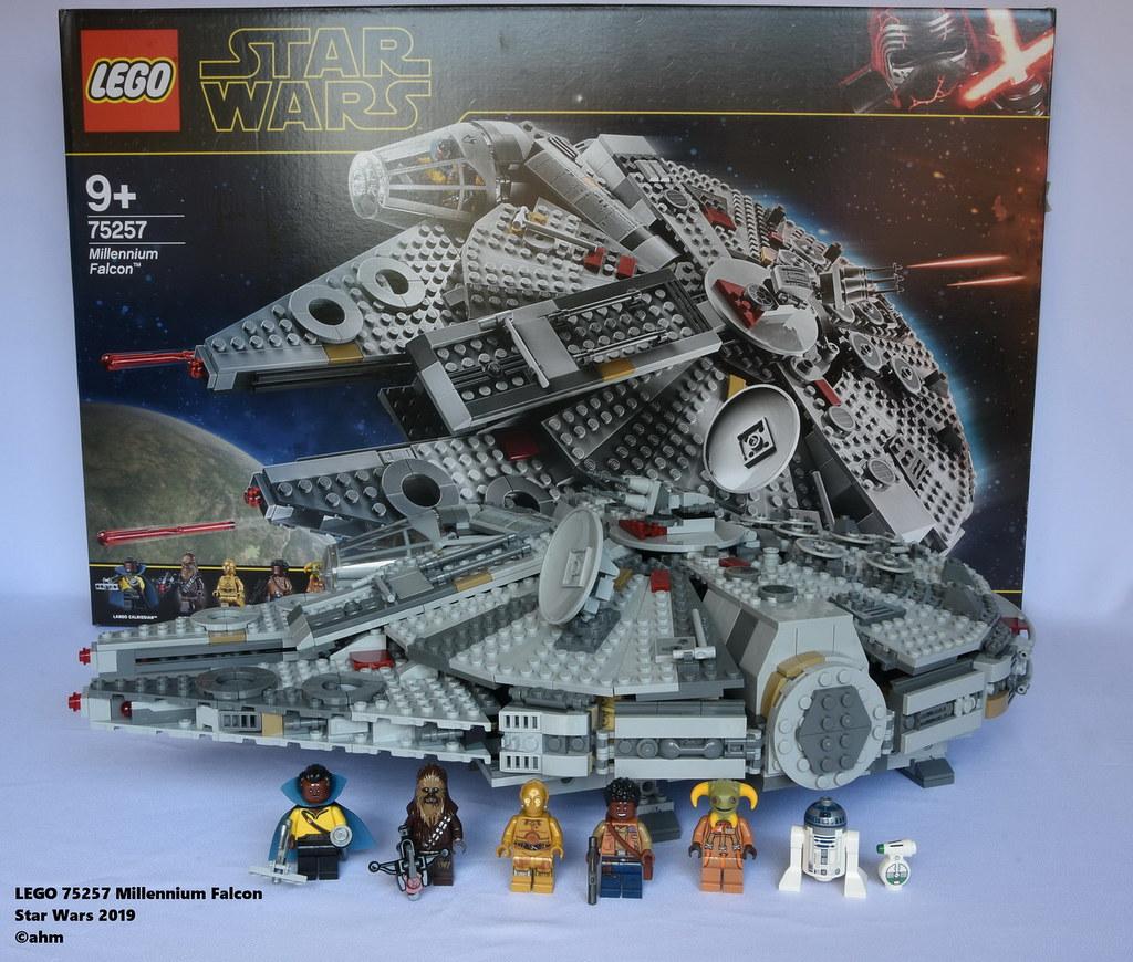 Star Wars Lego 75257 Millennium Falcon A Photo On Flickriver