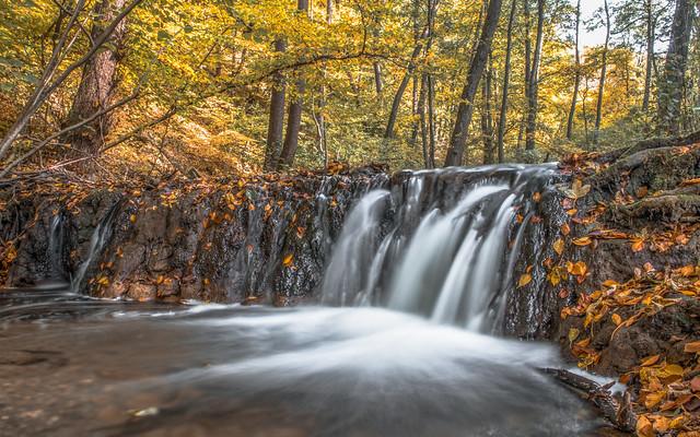 Szalajka valley waterfall