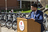Softheon Wolf Ride Bike Share Ribbon Cutting