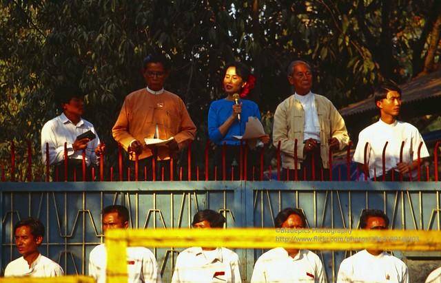 Yangon, Aung San Su Kyi