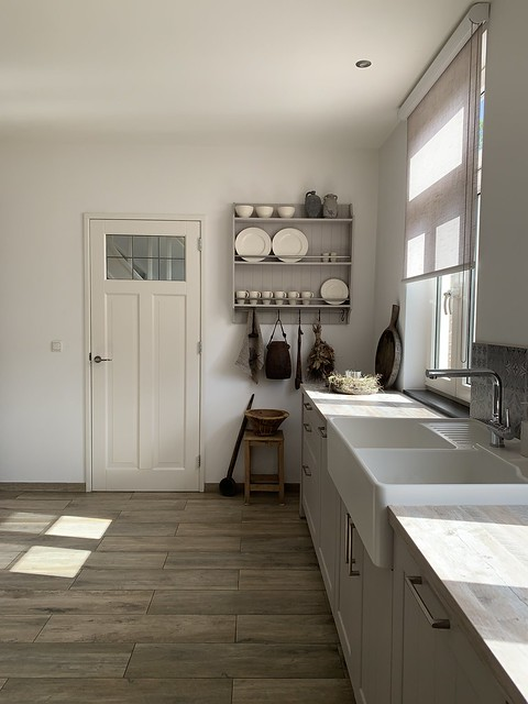 Wandrek keuken landelijke stijl