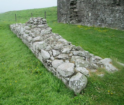 External wall,m St Ninian's Chapel, Isle of Whithorn