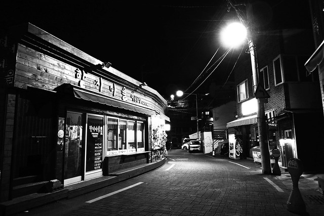 靜夜街頭  Silent street at night