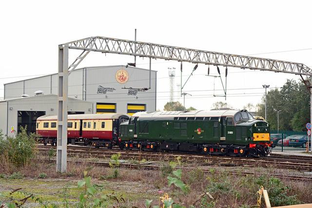 37667 Crewe Diesel Depot