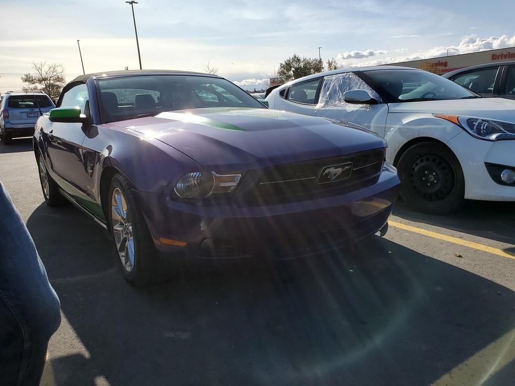 The Joker Ford Mustang
