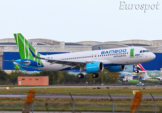 F-WWIU Airbus A320 Neo Bamboo Airways | by @Eurospot 10.000.000 views