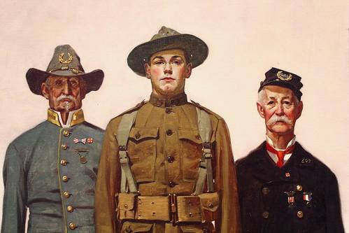 Veterans of Two Wars (detail)