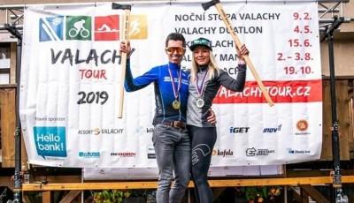 Valachy tour má staronové vítěze: Lucii Skřivánkovou a Petra Šťastného