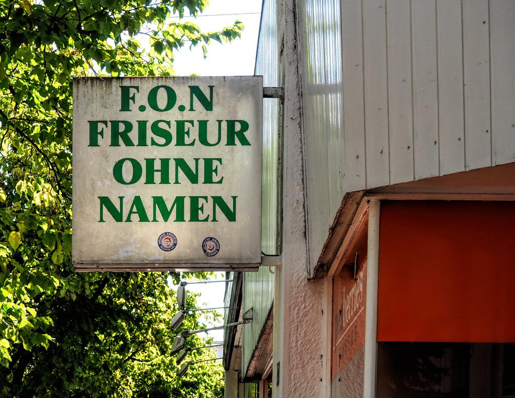 Friseur Ohne Namen