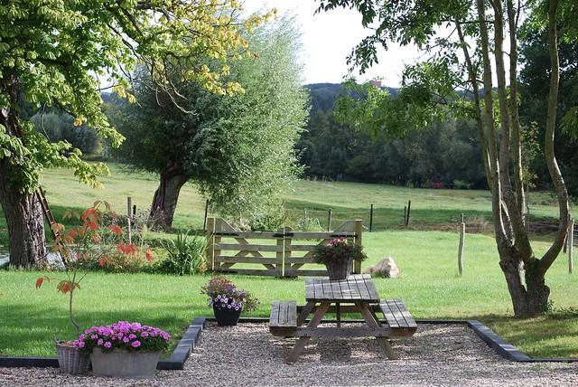 Boerderijtuin landelijk wonen