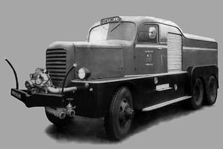 """NB-50-81 Mack NM6 1942 """"Brandweer Markelo"""""""