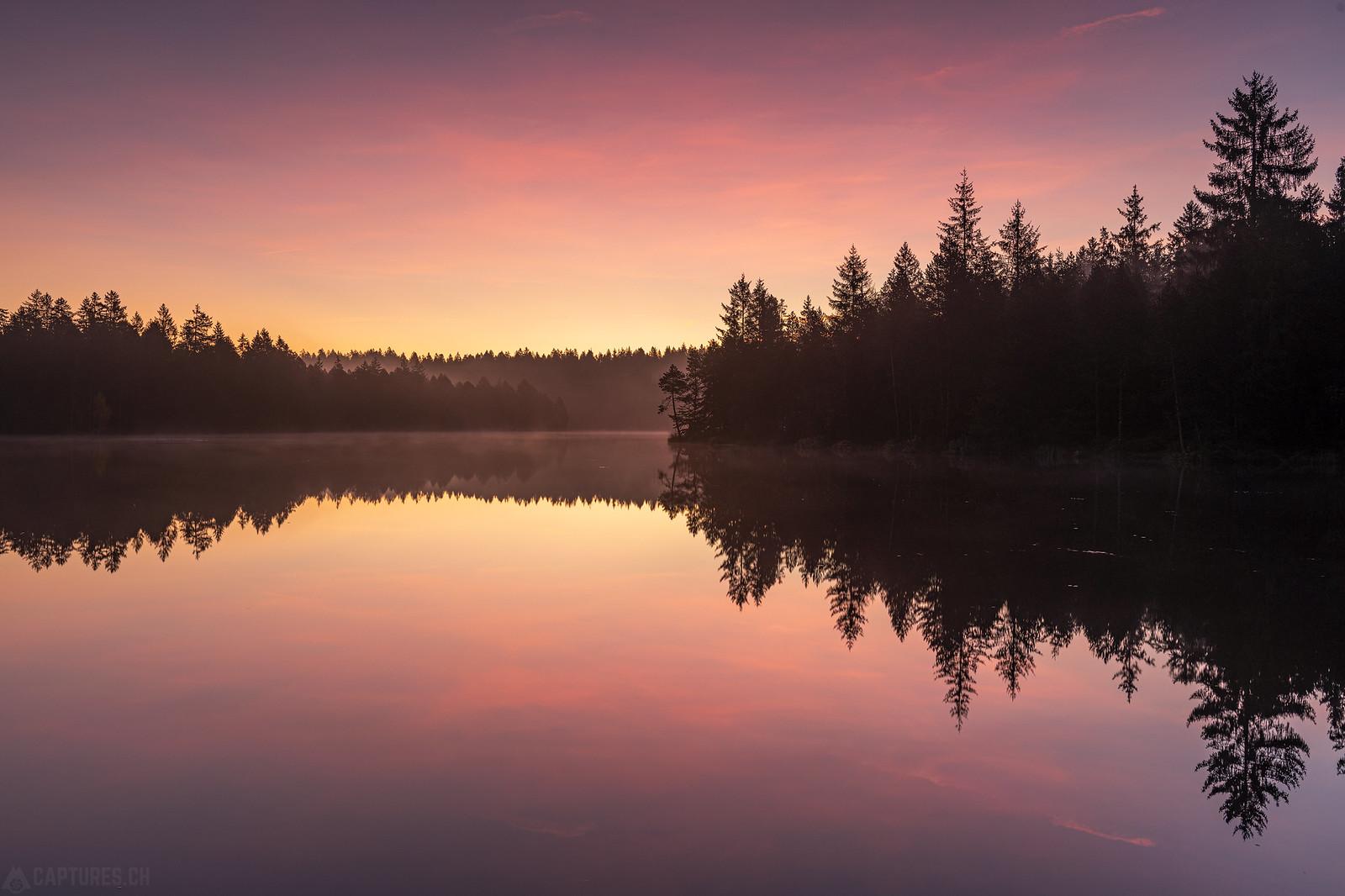 Dawn - Étang de la Gruère