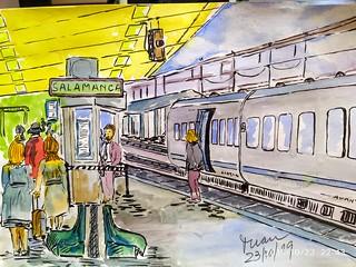 Estación Salamanca