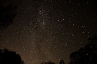 Milky way SW with Vega and Altair
