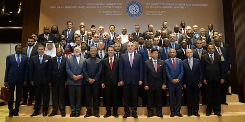 Venezuela aboga en Azerbaiyán por la defensa del derecho internacional para lograr un mundo pacífico
