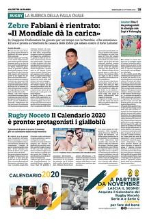 Gazzetta di Parma 23.10.19 - pag 43