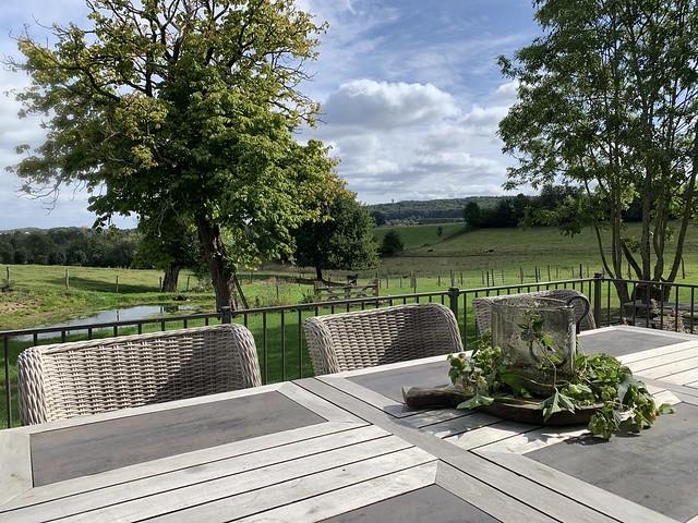 Tuinset landelijk terras