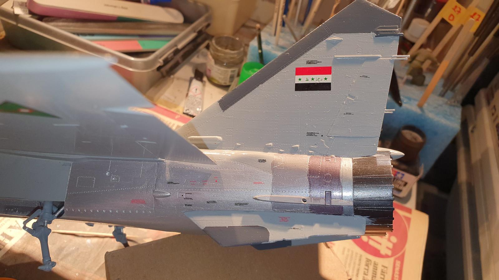 MiG-25BM Iraqi Air Force 1988 - ICM/Revell 1/48 + extra - Färdig! - Sida 7 48948807332_1d12734f4a_h