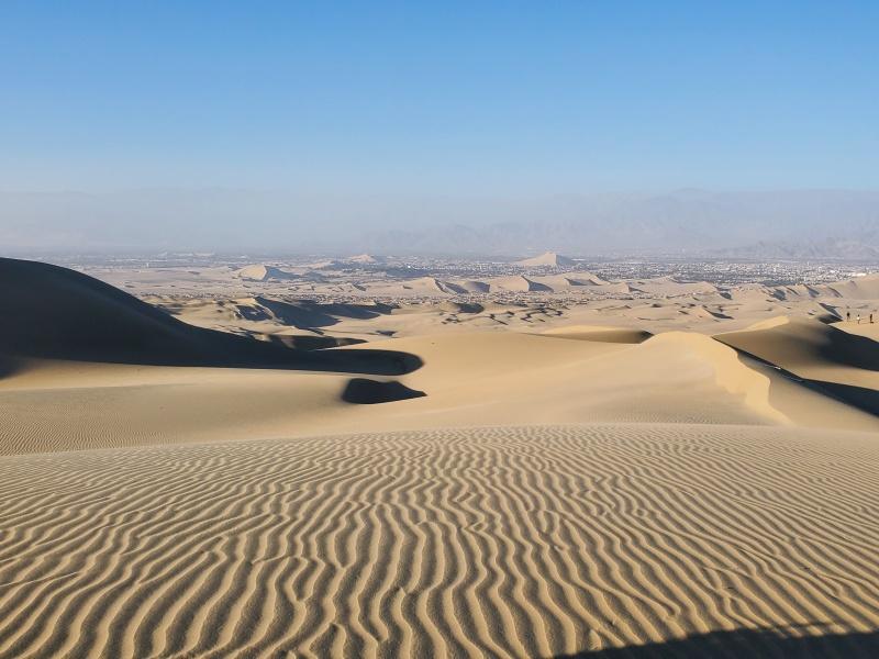 Huacachina sand dunes Peru
