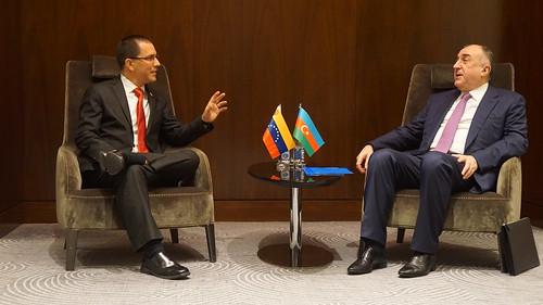 Venezuela y Azerbaiyán fortalecen relaciones bilaterales