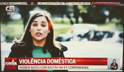 Violência doméstica (CMTV, 23/X/2019)