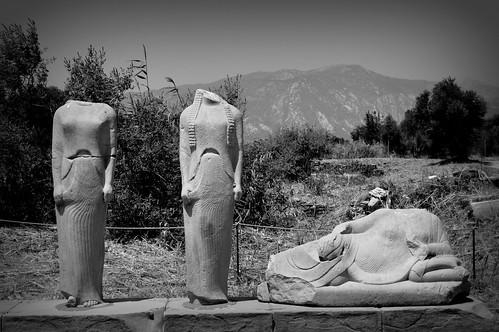 travel architecture places culture island greece archaeology landscape blackandwhite