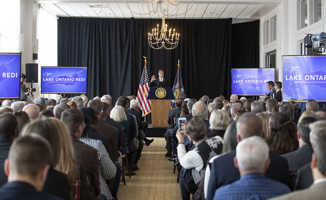 Cuomo announces $41M for Wayne County to prevent Lake Ontario flooding