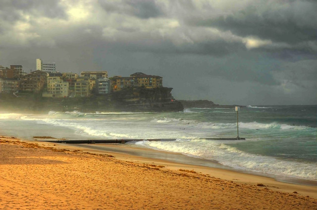 Storm Coming... Manly Beach, Australia