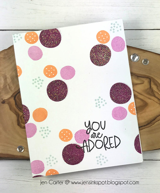 Jen Carter CP Ink New Find Your Happy You are Adored