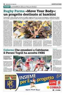 Gazzetta di Parma 23.10.19 - pag 42