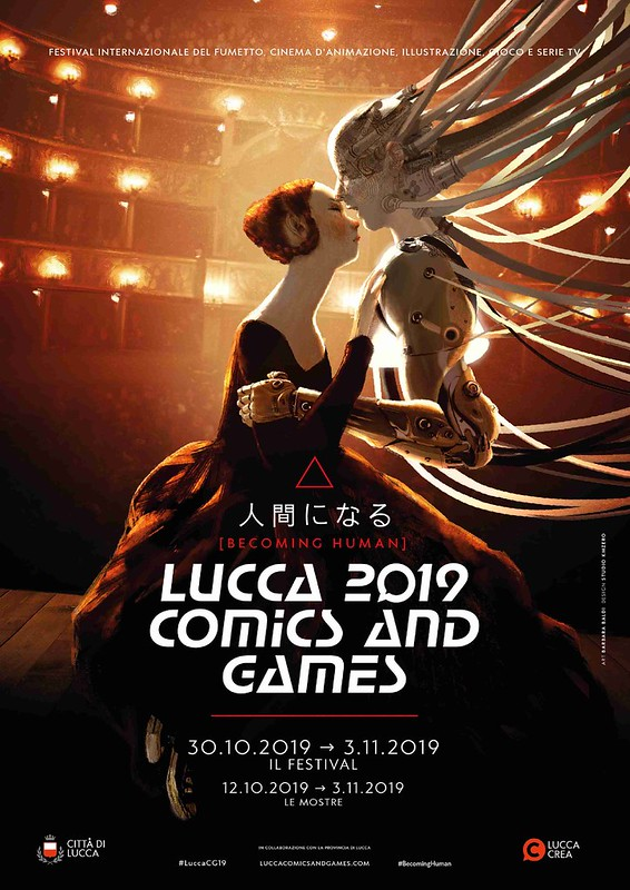 Lucca Comics & Games Program book