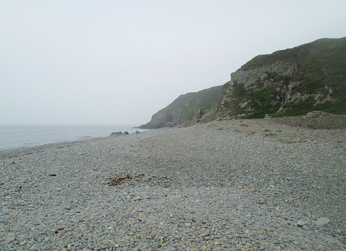 St Ninian's Cave From Beach