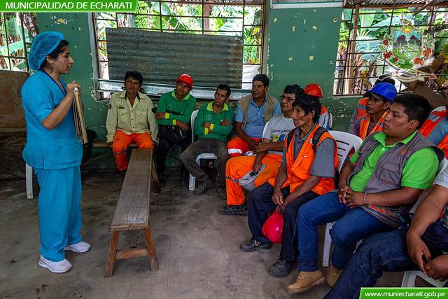 Trabajadores del riego Cocabambilla se benefician con atención integral en salud