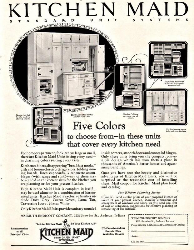 Kitchen Maid 1928