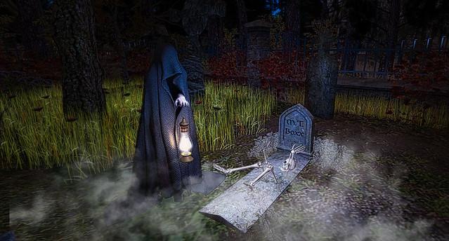 Dreadville Grave Visitor