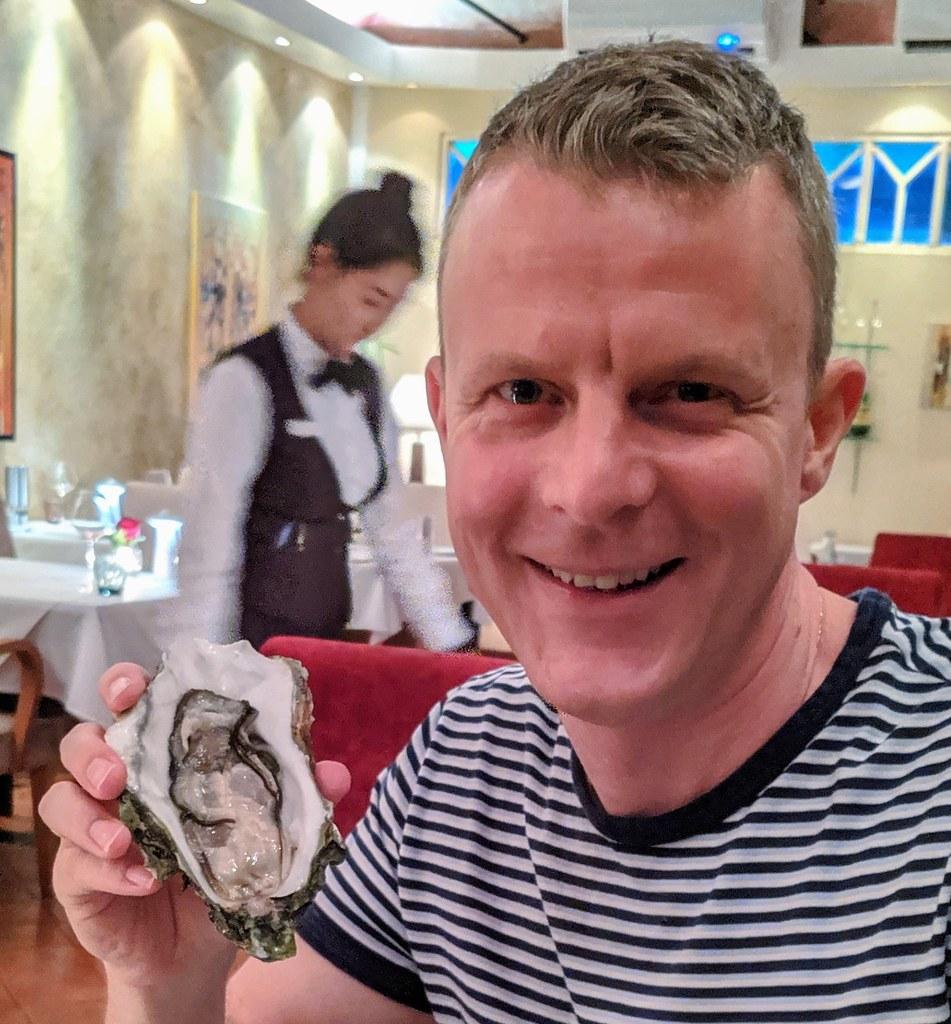 Hamish Elton Oyster Man