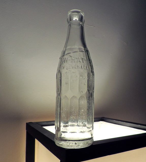 1946 Hi-Hat Soda Bottle