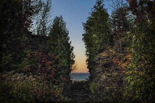 nikkor1855mm photoshop canada ontario paulboudreauphotography niagara d5100 nikon nikond5100 raw layer escarpment grimsby quarry sunset goldenhour
