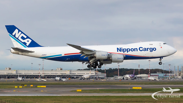 MXP - Nippon Cargo Airlines Boeing 747-8 Freighter JA12KZ