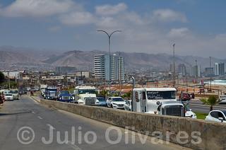 Protesta camioneros Chile 2